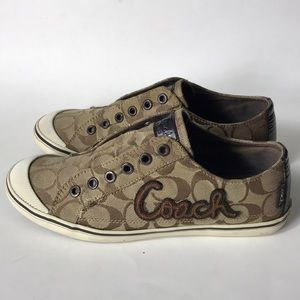 Coach keely sneakers size 8B women's shoes
